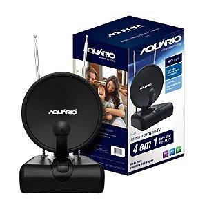 ANTENA INTERNA AQUARIOS TV500 VHF/UHF/FM/HDTV