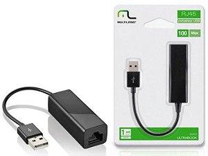 CABO CONVERSOR USB AM X RJ45 FEMEA WI272 MULTILASER