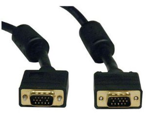 CABO VGA 15 PINOS P/MONITOR/TV 5 METROS PLUS CABLE