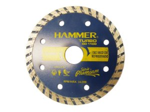 DISCO DIAMANTADO TURBO HAMMER 110X7X20MM