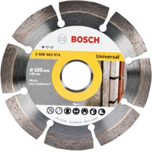 DISCO DIAMANTADO TURBO 105MM STANDARD - BOSCH