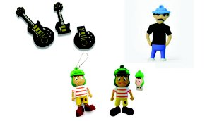 PEN DRIVE 8GB - PERSONAGENS DIVERSOS