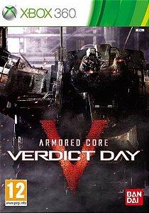 JOGO ARMORED CORE: VERDICT DAY IMP X360