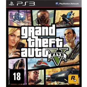 JOGO GTA V GRAND THEFT AUTO PS3