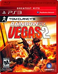 JOGO TOM CLANCYS RAINBOW SIX VEGAS 2 PS3