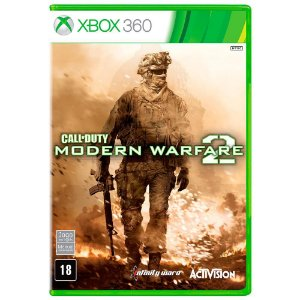 JOGO CALL OF DUTY MODERN WARFARE 2 XBOX 360