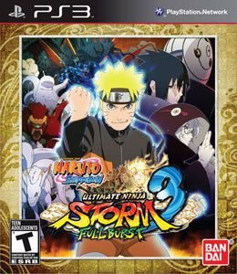 JOGO NARUTO SHIPPUDEN ULTIMATE 3 FULL BURST PS3