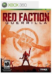 JOGO RED FACTION GUERRILLA XBOX 360