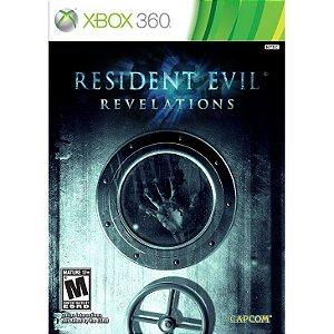 JOGO RESIDENT EVIL: REVELATIONS BR XBOX 360