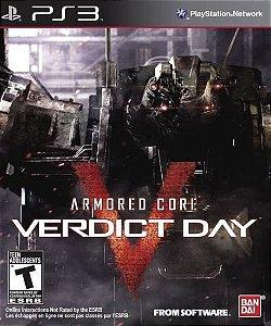 JOGO ARMORED CORE VERDICT DAY  PS3