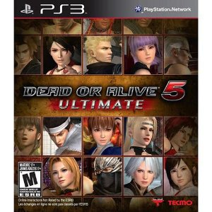 JOGO DEAD OR ALIVE 5 ULTIMATE PS3