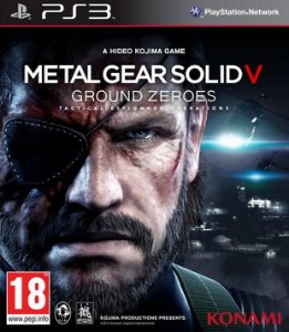 JOGO METAL GEAR SOLID V GROUND ZEROES PS3
