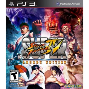 JOGO SUPER STREET FIGHTER IV ARCADE PS3