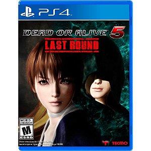JOGO DEAD OR ALIVE 5 LAST ROUND PS4