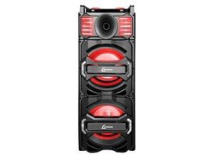 CAIXA AMPLIFICADA FM/USB/SD/AUX/BLUETOOTH C/ 1000W CA3800 LENOXX - BIVOLT