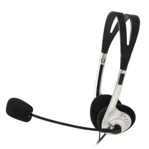 FONE HEADSET C/ MICROFONE VOICER LIGHT CT662040BS PRE/PR  C3 TECH