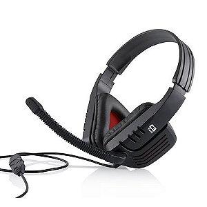 FONE HEADSET C/ MICROFONE MI-2558RB PREDATOR C3 TECH