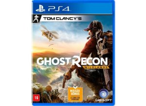 JOGO TOM CLANCYS GHOSTRECON WILDLANDS PS4