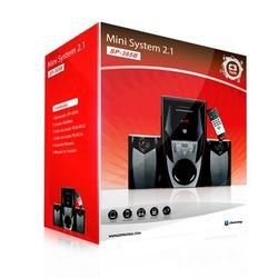 CAIXA DE SOM SPEAKER 2.1 FM/SD/USB/AUX/BLUETOOTH/ CONTROLE 44W SP-365BBK C3 TECH