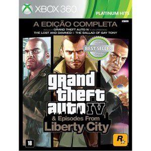 JOGO GTA IV COMPLETE EDITION - X360