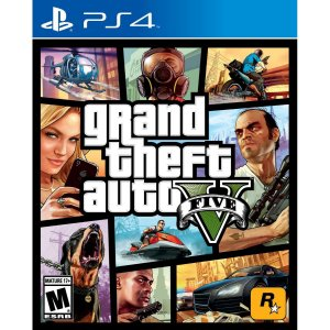 JOGO GTA V - GRAND THEFT AUTO V - PS4