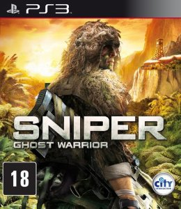 JOGO SNIPER GHOST WARRIOR PS3