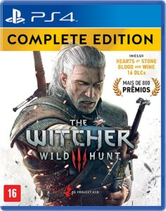 JOGO THE WITCHER III WILD HUNT COMPLETE EDITION NAC-BRA PS4