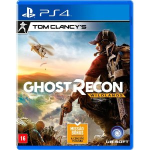 JOGO TOM CLANCYS GHOST RECON WILDLANDS LIMITED EDITION (NAC-BRA) PS4