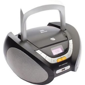 RADIO PORTATIL 5W/RMS CD-USB-FM-ENT.AUX-MP3  DZ-651394 BIVOLT DAZZ