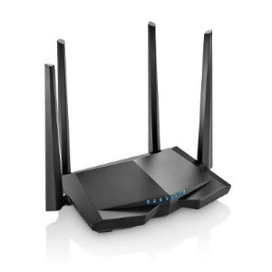 ROTEADOR 1200MBPS DUAL BAND 4 ANTENAS QOS PRETO RE184 MULTILASER