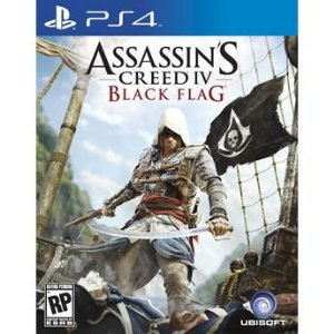 JOGO ASSASSINS CREED BLACK FLAG PTBR CPP PS4