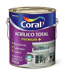 Latéx Acrílico Total Fosco Lavável 3,6L