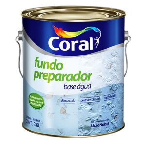 Fundo Preparador Para Paredes Base água 3,6L