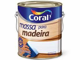 Massa Óleo Branco Para  Madeira 3,6L