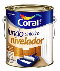 Fundo Sintético Nivelador  Branco 3,6L