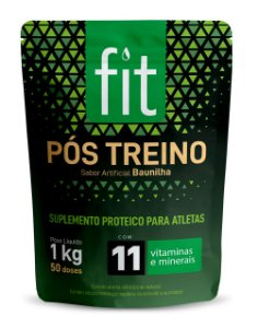 FIT PÓS-TREINO SABOR BAUNILHA 1 kg