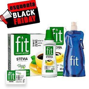 Combo Fit Stevia com Sucralose - Ganhe uma Squeeze