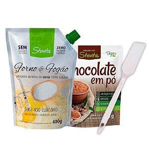 Combo do Chef - Forno e Fogão + Chocolate em Pó
