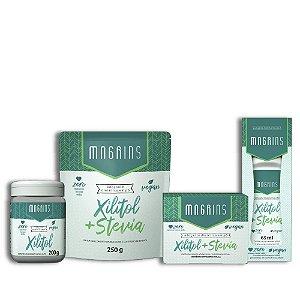 Combo Magrins - Ganhe 1  Xilitol + Stevia Líquido 65ml