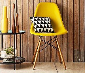 Cadeiras Charles Eames Eiffel Wood Design Dsw Várias Cores