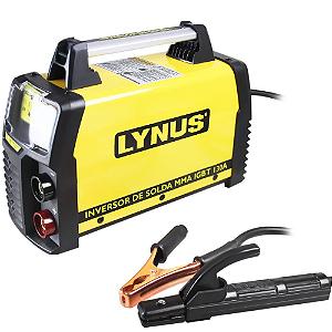 Inversora de Solda Portátil 130A  LIS 130 -220V Lynus