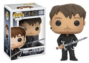 Funko Pop Vinyl Hook com Excalibur - Once Upon A Time