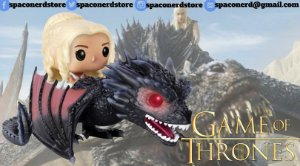 Funko Pop Vinyl Daenerys &  Dragão - Game of Thrones