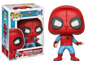Funko Pop Vinyl Spider Man Homemade Suit - Spider Man Homecoming