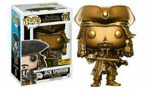 Funko Pop Vinyl Jack Sparrow - Exclusivo HT - Piratas do Caribe