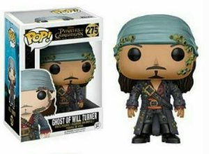 Funko Pop Vinyl Ghost of Will Turner -  Piratas do Caribe