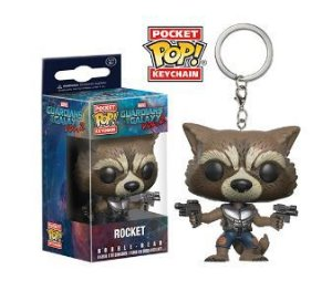 Pocket Pop! Keychain: Guardians of the Galaxy 2 - Rocket
