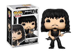 Funko Pop Vinyl Kirk Hammett - Metallica