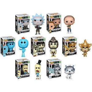 Funko Pop Vinyl Rick and Morty