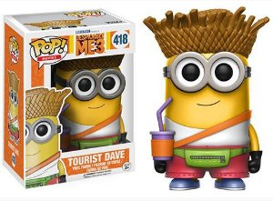 Funko Pop Vinyl Tourist Dave - Despicable Me 3